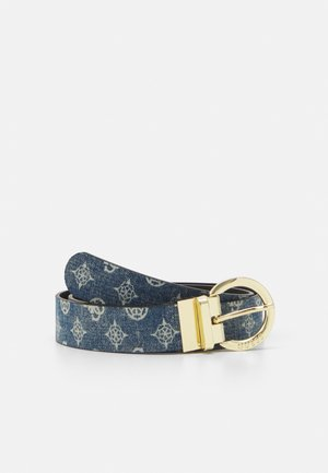 ALBY PANT BELT - Belt - denim/blue