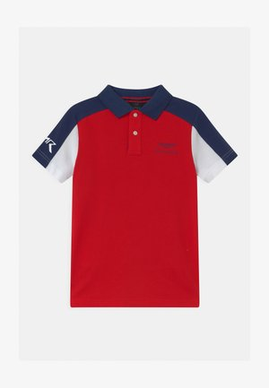 PANEL - Polo shirt - red/multi