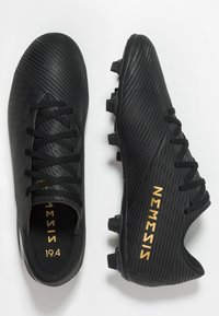 adidas Performance - NEMEZIZ 19.4 FXG - Moulded stud football boots - core black/utility black - 1