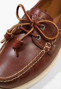 Polo Ralph Lauren - MERTON - Scarpe da barca - deep saddle tan - 5