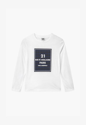 LONG SLEEVE - Langarmshirt - white