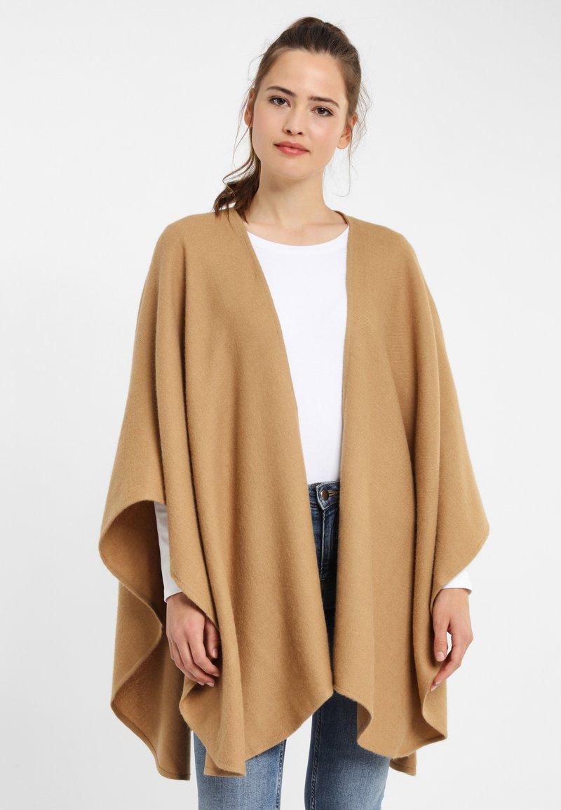 PONCHO COMPANY - Cardigan - camel