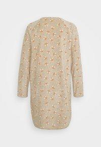 Benetton - NIGHT DRESS - Sweatshirt - beige - 1