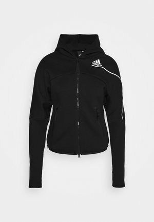 ZNE - veste en sweat zippée - black