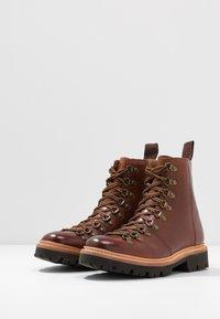 Grenson - NANETTE - Platform ankle boots - tan - 4