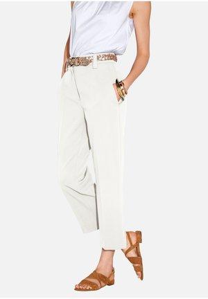 BARBARA - Trousers - offwhite