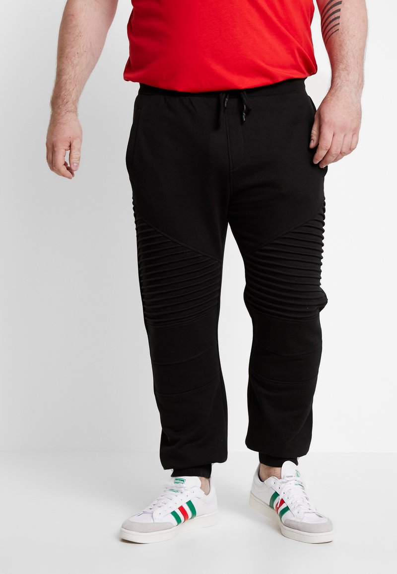 INDICODE JEANS - CRISTOBAL PLUS - Tracksuit bottoms - black