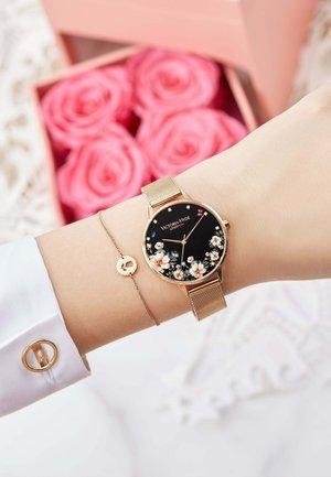 PARK FLOWER SET - Watch - rosagold