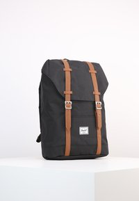 Herschel - RETREAT - Tagesrucksack - black/tan