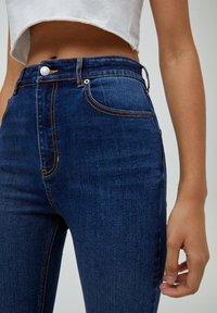 PULL&BEAR - Jeans Skinny Fit - mottled blue - 3