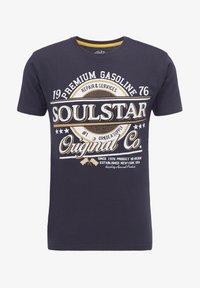 SOULSTAR - Print T-shirt - marine - 4