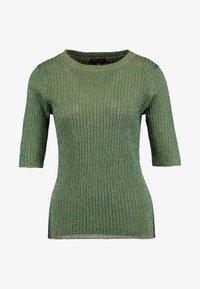 Soeur - GLITTER - T-shirt con stampa - vert/gold - 3