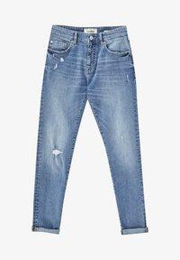 PULL&BEAR - Jeans Skinny Fit - stone blue denim - 6