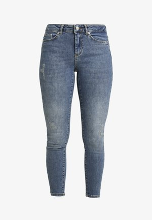 VMTERESA - Vaqueros pitillo - medium blue denim