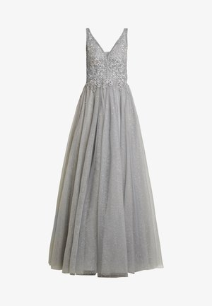 Společenské šaty - breeze/silver