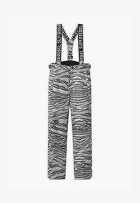 SuperRebel - SUSTAINABLE UNISEX - Snow pants - white - 0