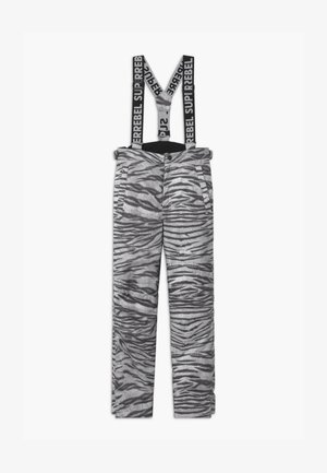 SUSTAINABLE UNISEX - Snow pants - white
