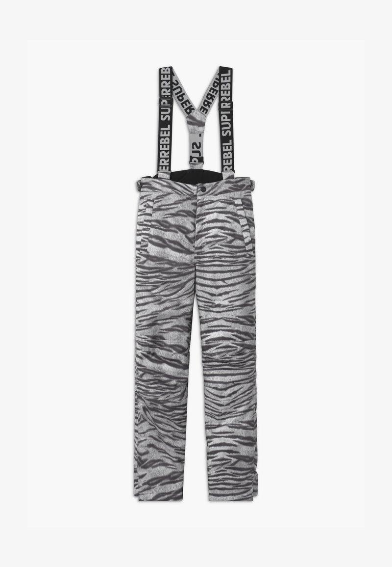 SuperRebel - SUSTAINABLE UNISEX - Snow pants - white