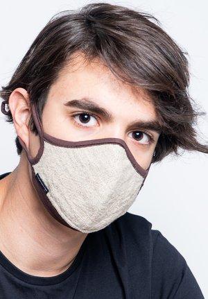 Maschera in tessuto - beige