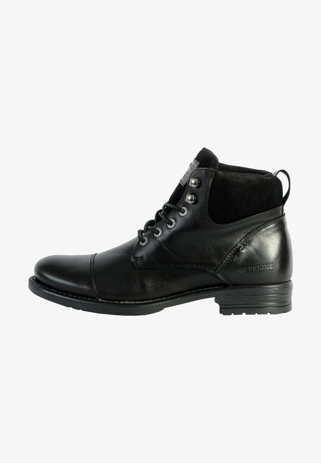 PRICIN - Bottines à lacets - noir