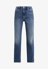 Good American - GOOD CURVE - Džíny Straight Fit - blue190 - 7
