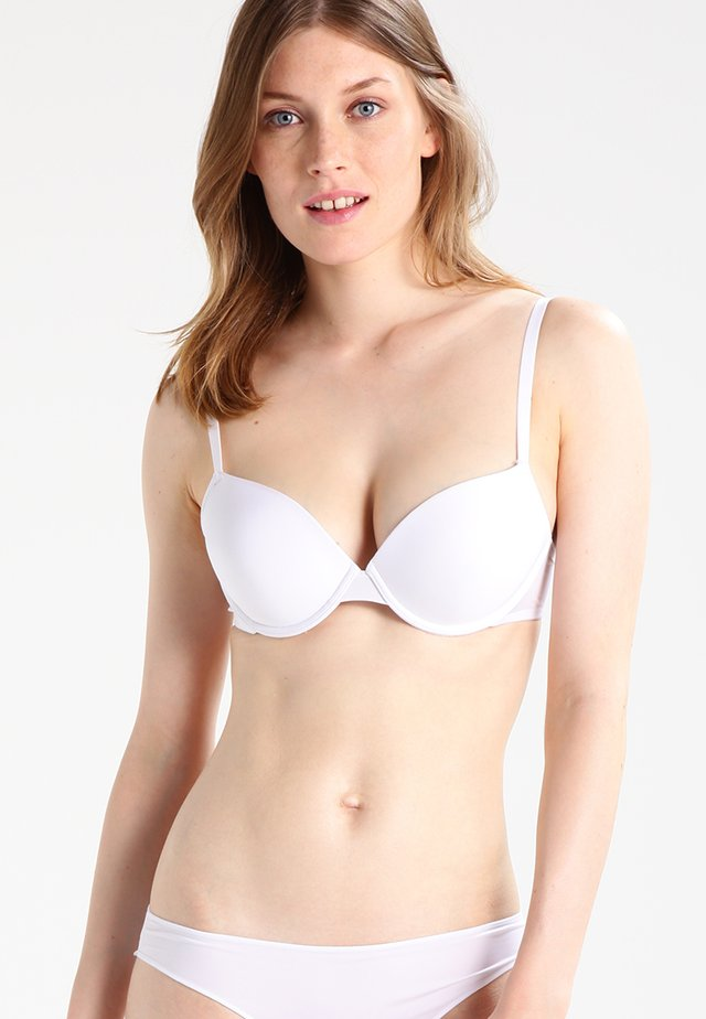 MICRO FINE - Push-up bra - weiß