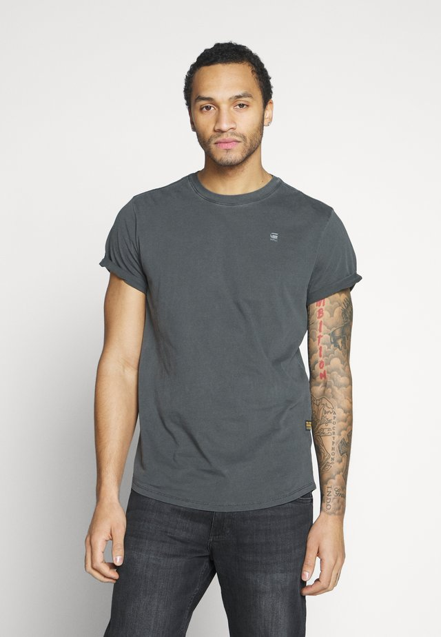 LASH - Basic T-shirt - black