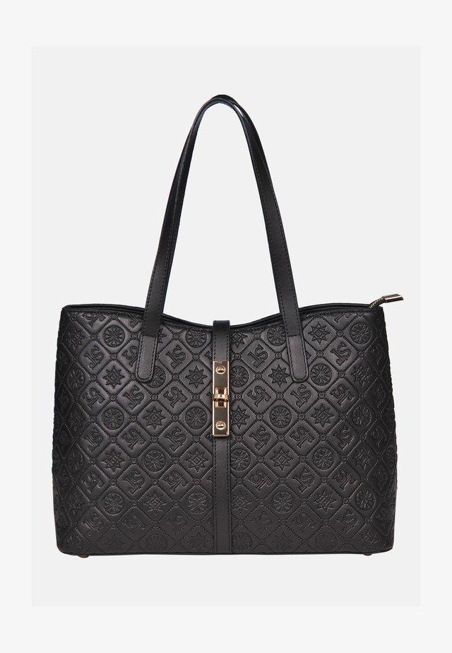 HOCHWERTIGE - Handväska - schwarz