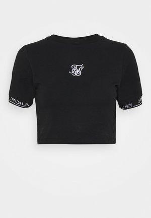 TECH TEE - Camiseta estampada - black