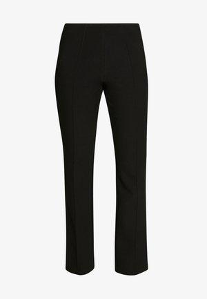 CHRISTAH - Spodnie materiałowe - black