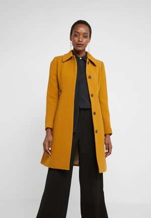 LADY DAY UPDATE - Classic coat - dark amber