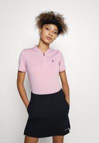 Peak Performance - TURF ZIP - Basic T-shirt - statice lilac - 0