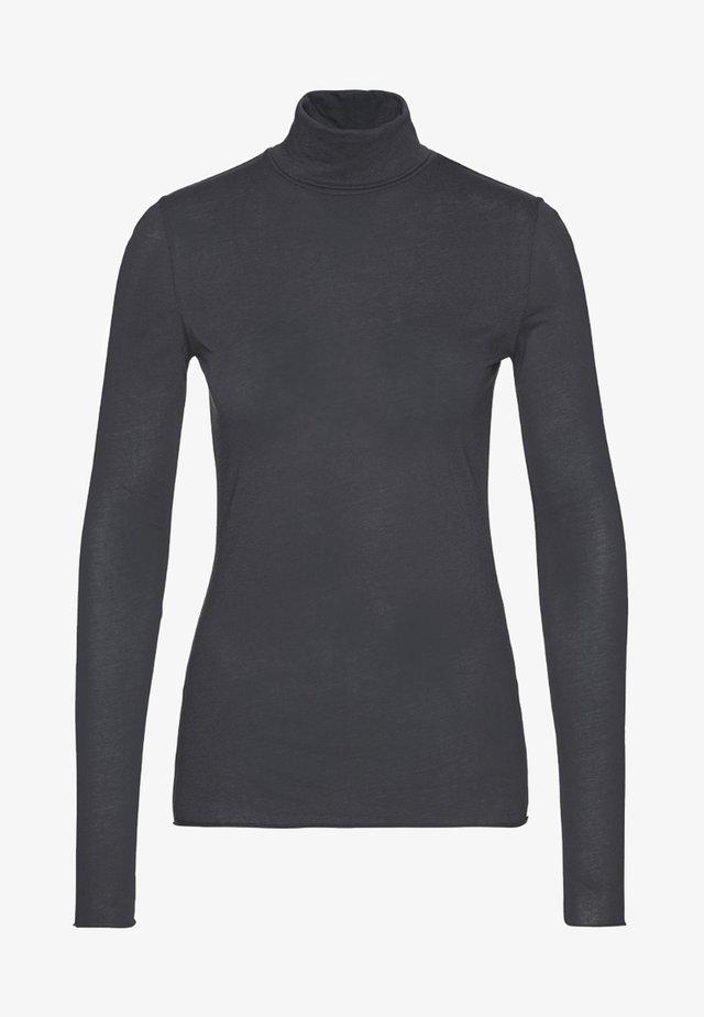 MALENAA - Long sleeved top - acid black