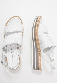 Pons Quintana - Platform sandals - blanco - 3