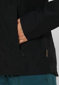 Jack Wolfskin - EVANDALE JACKET - Hardshell jacket - black - 4