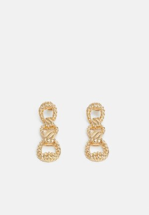 PCBURSTE EARRINGS - Earrings - gold-coloured