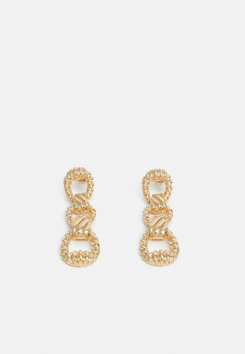 Pieces - PCBURSTE EARRINGS - Earrings - gold-coloured