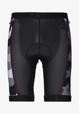ERMIZ EVO LINER MEN - Leggings - pirate black/gun metal