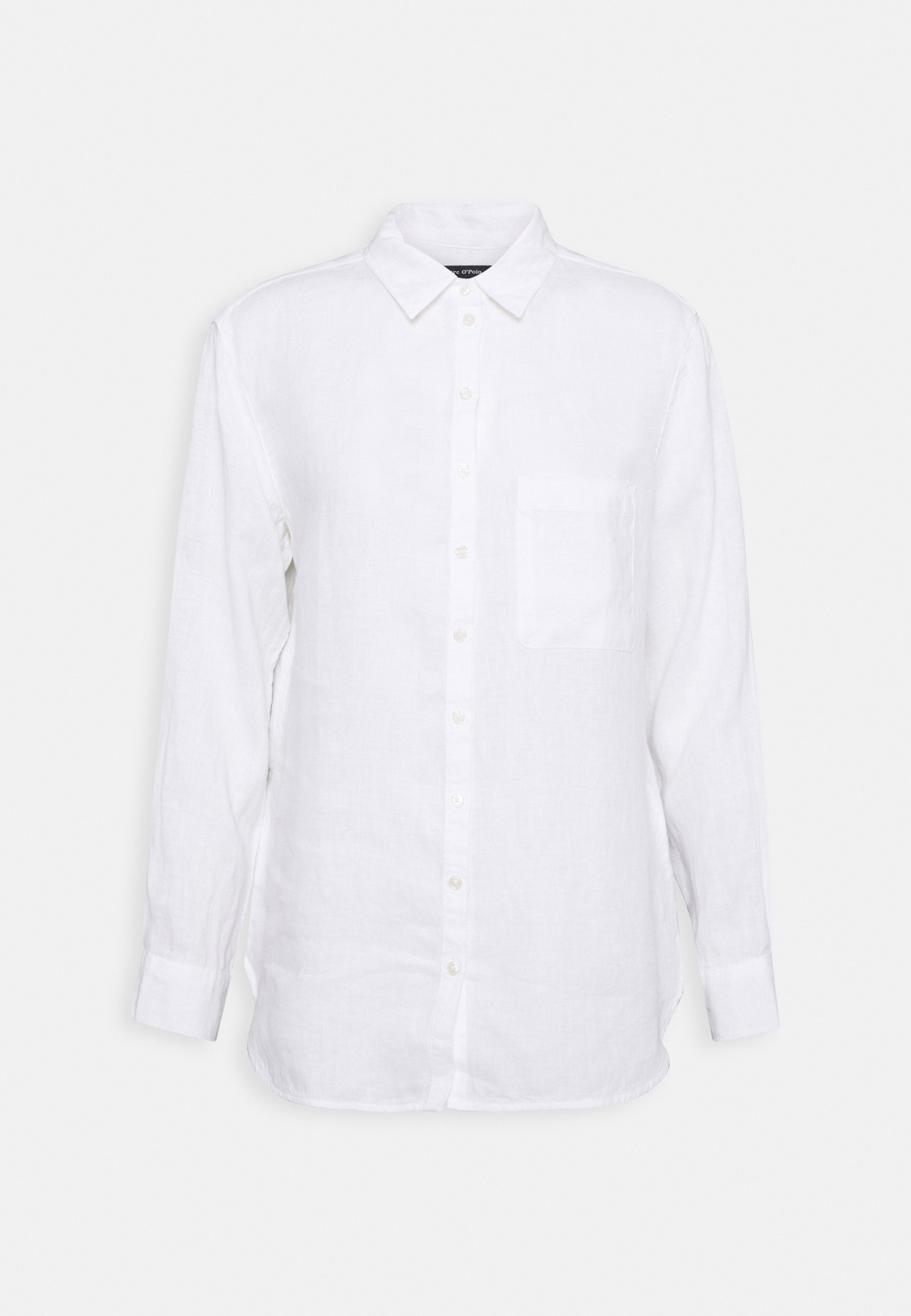 Women BLOUSE LONG SLEEVED EASY SHAPED - Button-down blouse