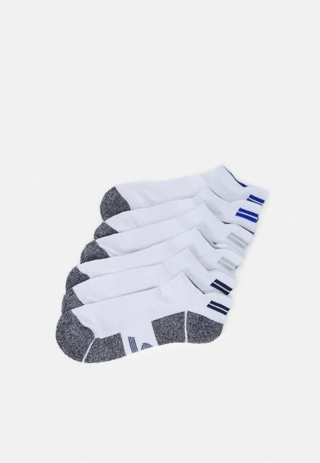 MENS SNEAKER 6 PACK - Sports socks - white
