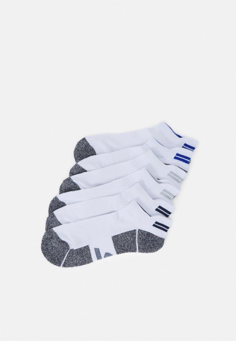 Skechers Performance - MENS SNEAKER 6 PACK - Sports socks - white
