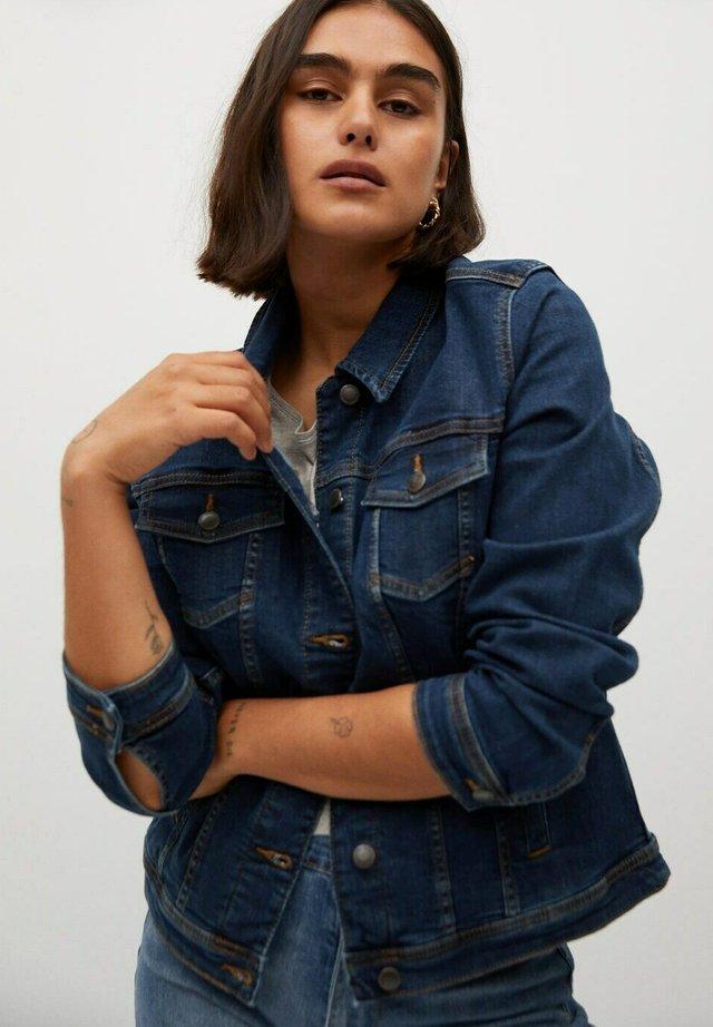 SARAH - Veste en jean - dunkelblau