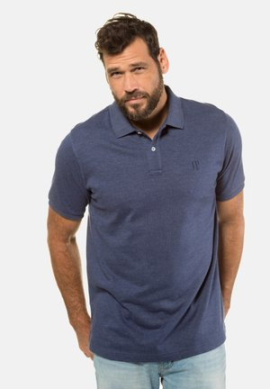 Polo shirt - indigo-melange