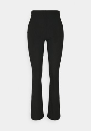 FLARE - Trousers - black