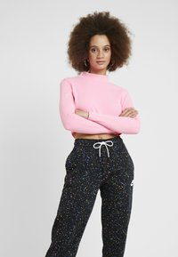 Nike Sportswear - Tracksuit bottoms - black/white - 3