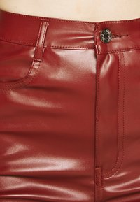 Missguided - TROUSER - Trousers - wine - 5