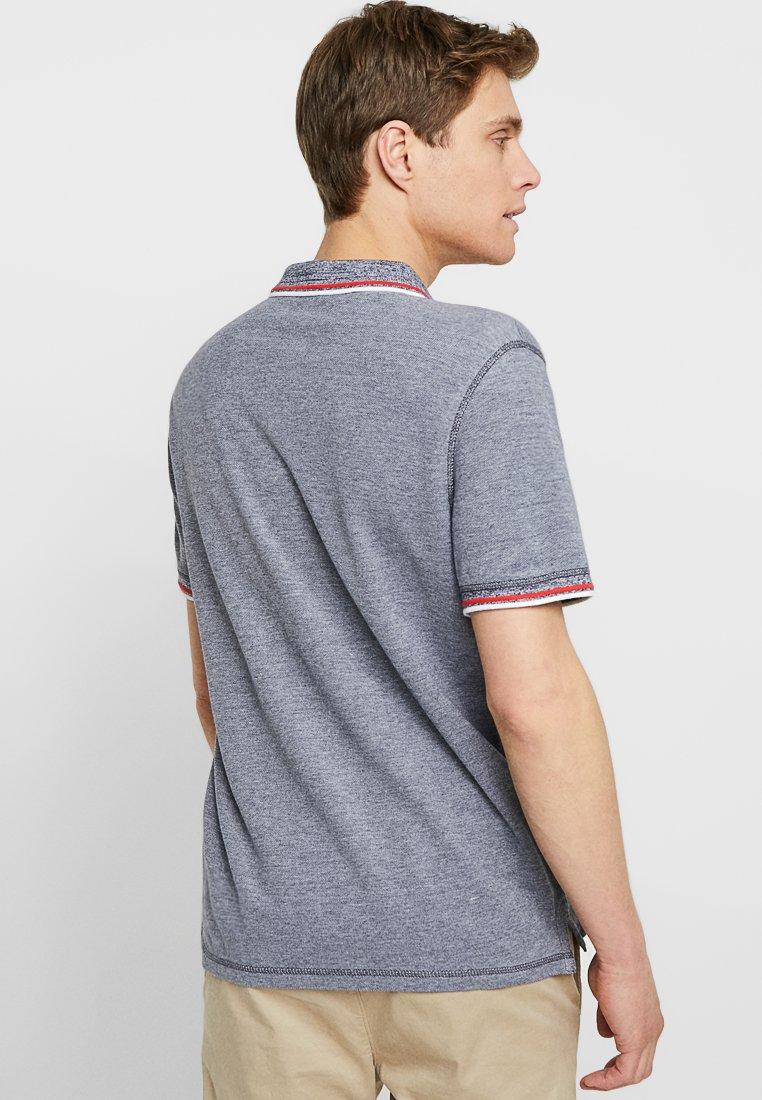 TOM TAILOR Polo shirt - navy/white/blue e1DdG