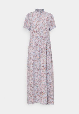 FLEUR FLOWER PRINT MAXI DRESS VEGAN - Maxi dress - asley blue