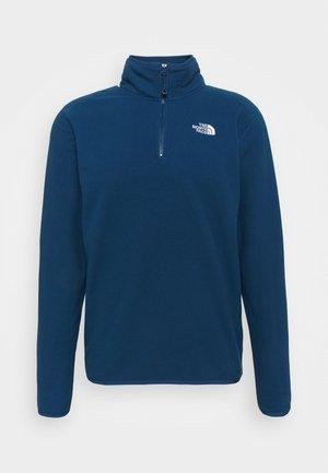 GLACIER 1/4 ZIP  - Fleece jumper - monterey blue