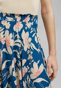 Esprit - A-snit nederdel/ A-formede nederdele - bright blue - 3